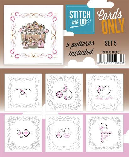 Stitch & Do Cards Only Set 5