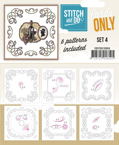 Stitch & Do Cards Only Set 4