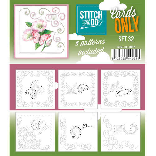 Stitch & Do Cards Only Set 32