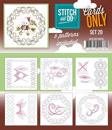 Stitch & Do Cards Only Set 20
