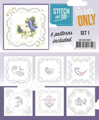 Stitch & Do Cards Only Set 1