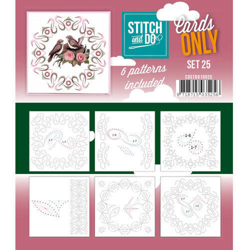 Stitch & Do Cards Only Set 25