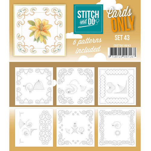 Stitch & Do Cards Only Set 43