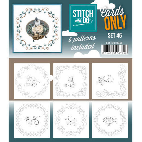 Stitch & Do Cards Only Set 46