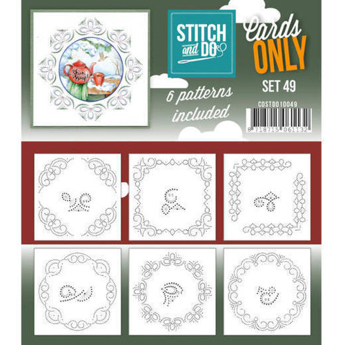 Stitch & Do Cards Only Set 49