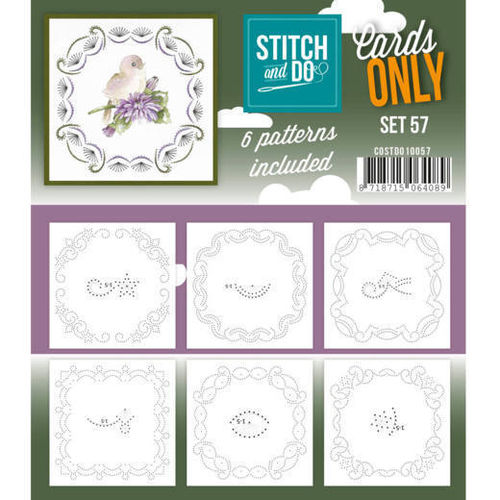 Stitch & Do Cards Only Set 57