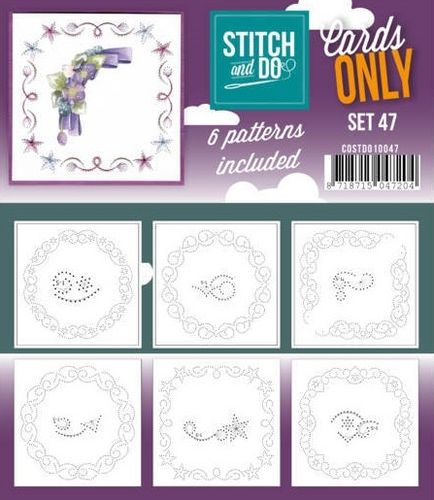Stitch & Do Cards Only Set 47