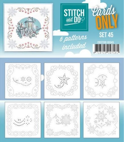 Stitch & Do Cards Only Set 45