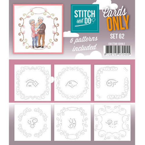 Stitch & Do Cards Only Set  62