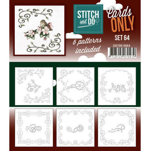Stitch & Do Cards Only Set  64