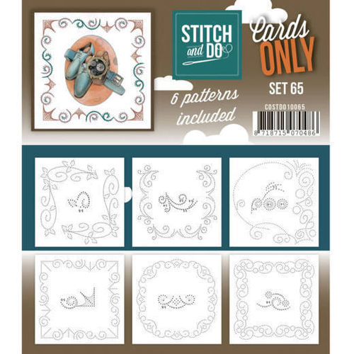 Stitch & Do Cards Only Set  65