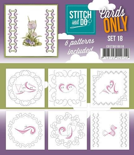 Stitch & Do Cards Only Set 18