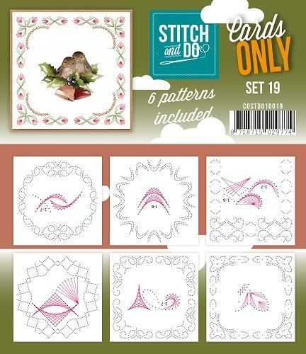 Stitch & Do Cards Only Set 19