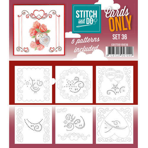 Stitch & Do Cards Only Set 36