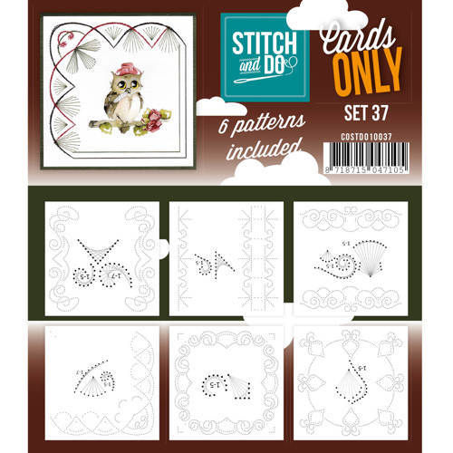Stitch & Do Cards Only Set 37