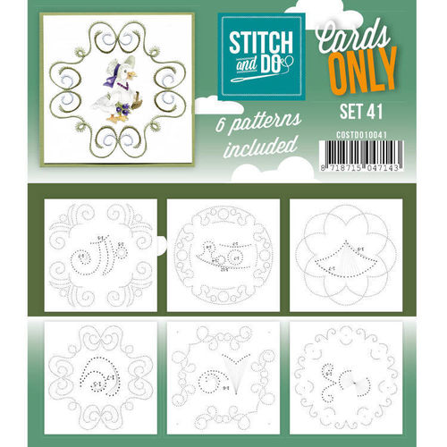Stitch & Do Cards Only Set 41
