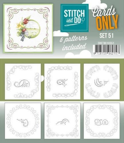 Stitch & Do Cards Only Set 51