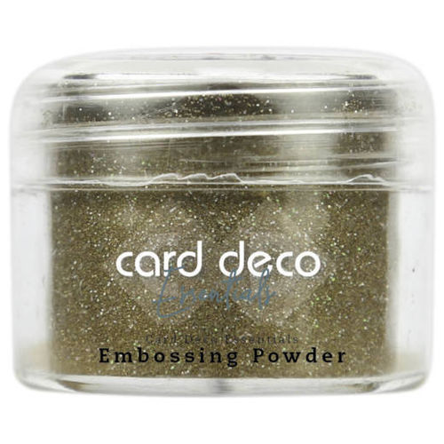 Card Deco Embossingpulver Glitter Gold