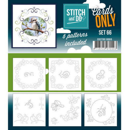 Stitch & Do Cards Only Set 66