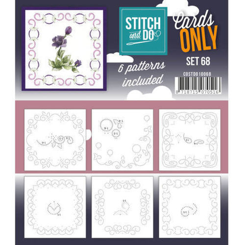Stitch & Do Cards Only Set 68