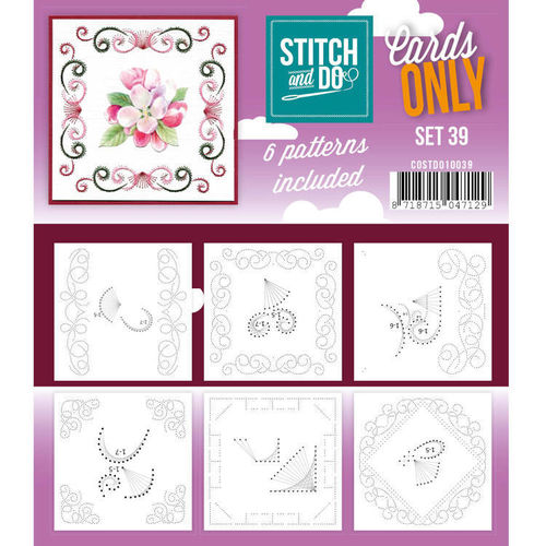 Stitch & Do Cards Only Set 39