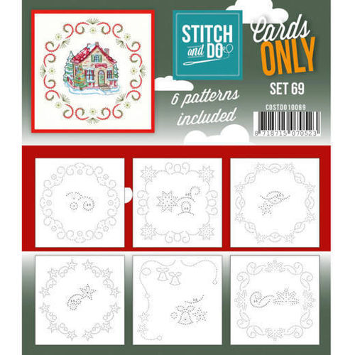 Stitch & Do Cards Only Set 69