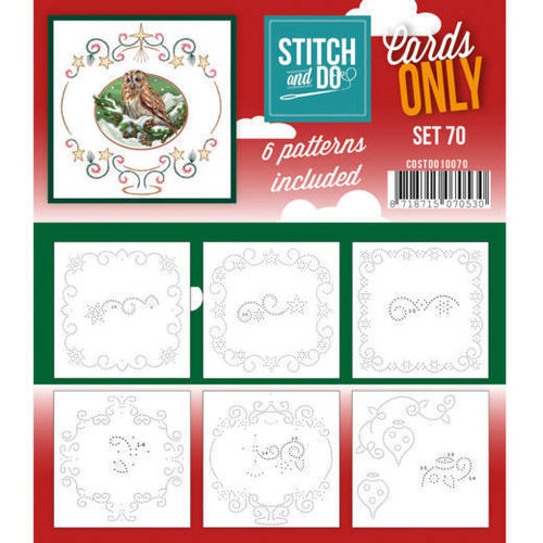 Stitch & Do Cards Only Set 70
